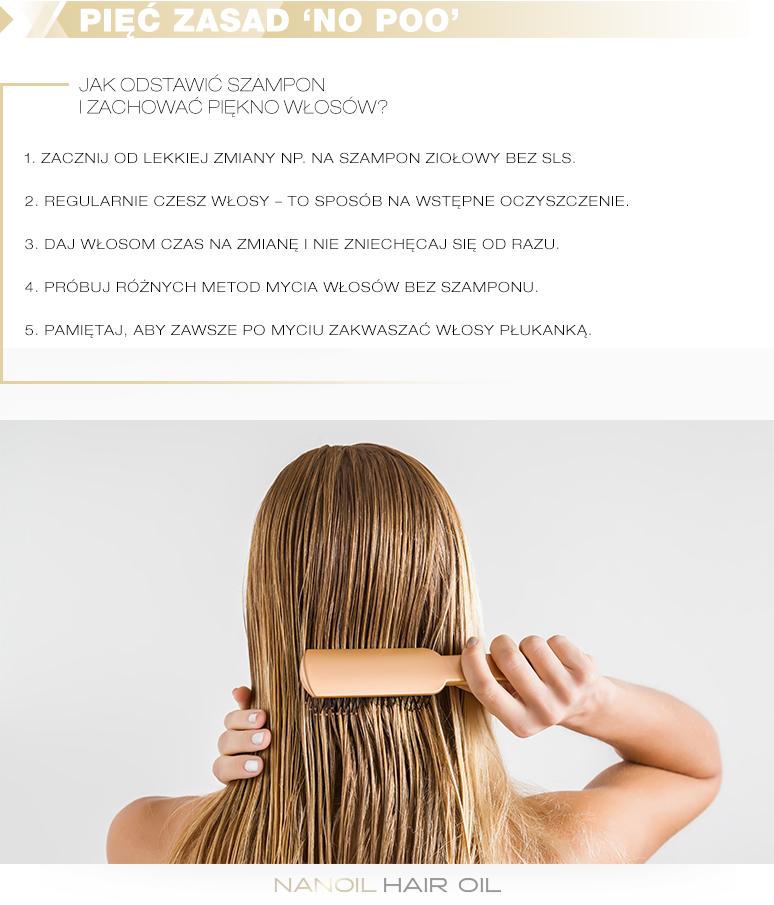 Zasady mycia włosów bez szamponu
